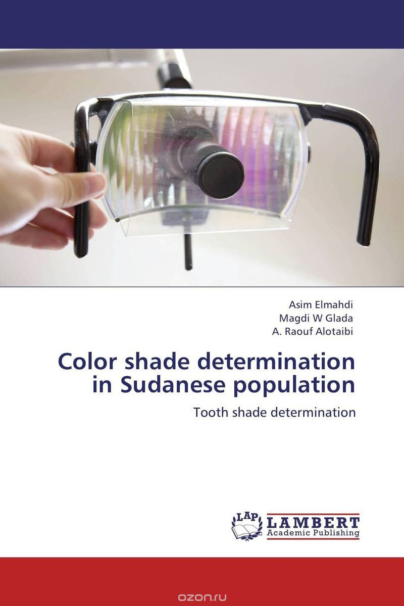 Color shade determination in Sudanese population